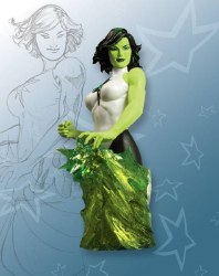 WOMEN OF THE DC UNIVERSE JADE BUST