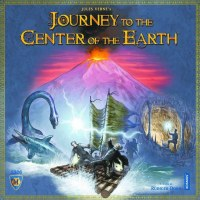 JOURNEY TO THE CENTER OF THE EARTH BOARD GAME
