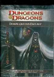 D&D 4TH ED P2 DEMON QUEEN'S ENCLAVE