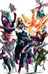 AVENGERS INVADERS #12 BY ALEX ROSS POSTER