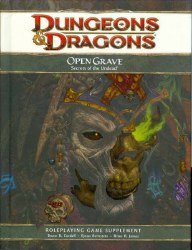 D&D 4TH ED OPEN GRAVE SECRETS OF THE UNDEAD