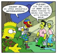 SIMPSONS COMICS TREASURE TROVE#3