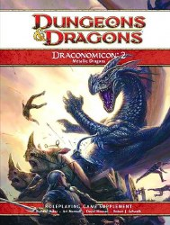 D&D 4TH ED DRACONOMICON METALLIC DRAGONS
