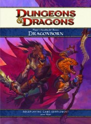 D&D 4TH ED PLAYERS HANDBOOK RACES DRAGONBORN