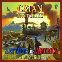 CATAN HISTORIES SETTLERS OF AMERICA TRAILS RAILS