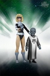 BLACKEST NIGHT BLACK LANTERN TERRA WITH SCAR AF