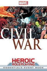 MARVEL HEROIC RPG CIVIL WAR EVENT BOOK ESSENTIALS