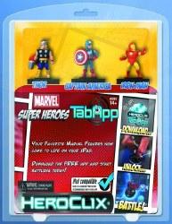 MARVEL HEROCLIX MARVEL SUPERHEROES TAB APP PACK