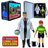 VENTURE BROS RUSTY/JONAS WITH TIN TOTE SDCC SET