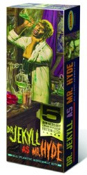 DR JEKYLL AS MR HYDE PLASTIC MODEL KIT