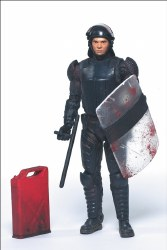 WALKING DEAD COMIC SERIES 2 RIOT GEAR GLEN ACTION FIGURE