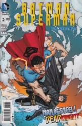 BATMAN SUPERMAN (2013) #2 VAR ED
