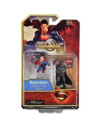 DC HEROCLIX MAN OF STEEL TAB APP ELITE 2PK