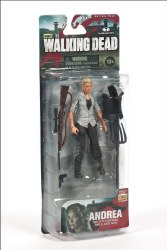 WALKING DEAD TV SERIES 4 ANDREA ACTION FIGURE