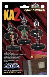 KICK ASS 2 HEROCLIX FAST FORCES 6 PACK