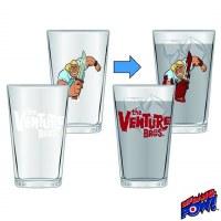 VENURE BROS COLOR CHANGE BROCK 16OZ GLASS 2-PC SET