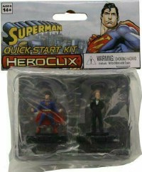 DC HEROCLIX SUPERMAN LEX LUTHOR QUICK START KIT 2PK