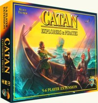 SETTLERS OF CATAN EXPLORERS & PIRATES 5-6 PLAYER EXPANSION