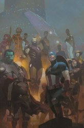 AVENGERS POSTER #24 BY RIBIC