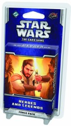 STAR WARS CARD GAME HEROES AND LEGENDS FORCE PACK