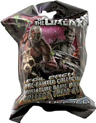 MARVEL HEROCLIX GUARDIANS OF THE GALAXY 1 FIGURE FOIL PACK