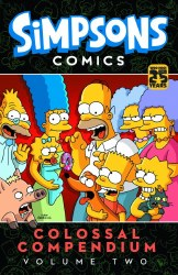 SIMPSONS COMICS COLOSSAL COMPENDIUM TP VOL 02