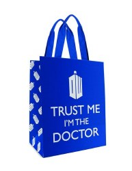 DOCTOR WHO TRUST ME LG TOTE BAG