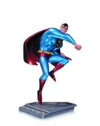 SUPERMAN MAN OF STEEL STATUE ANIMATED SER