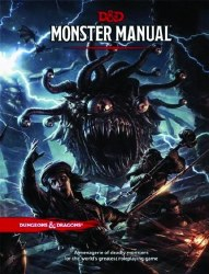 D&D RPG MONSTER MANUAL HC