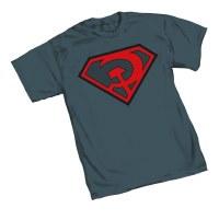 SUPERMAN RED SUN SYMBOL T/S XL