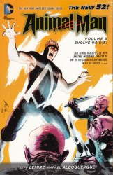 ANIMAL MAN TP VOL 05 EVOLVE OR DIE (N52)