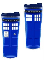 DOCTOR WHO TARDIS FULL COLOR FLASK