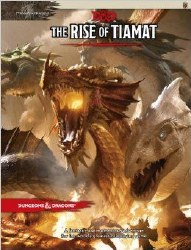 D&D RPG RISE OF TIAMAT HC