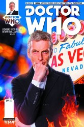 DOCTOR WHO 12TH #9 SUBSCRIPTION PHOTO