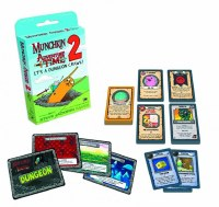 MUNCHKIN ADVENTURE TIME 2 ITS A DUNGEON CRAWL EXP