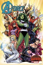 A-FORCE (2015) #1 BY CHEUNG POSTER