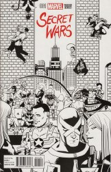 SECRET WARS #1 (OF 8) ZDARSKY PARTY SKETCH VAR