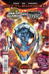 AGE OF ULTRON VS MARVEL ZOMBIES (WARZONES) -SET- (#1 TO #4)