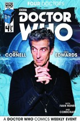 DOCTOR WHO 2015 FOUR DOCTORS #4 (OF 5) SUBSCRIPTION PHOTO