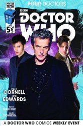 DOCTOR WHO 2015 FOUR DOCTORS #5 (OF 5) SUBSCRIPTION PHOTO