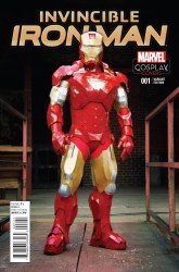 INVINCIBLE IRON MAN #1 COSPLAY VAR