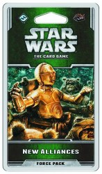 STAR WARS CARD GAME NEW ALLIANCES FORCE PACK