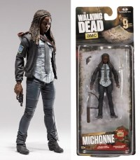 WALKING DEAD TV SERIES 9 MICHONNE ACTION FIGURE