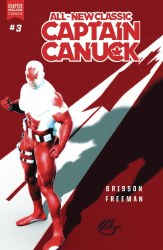 ALL NEW CLASSIC CAPTAIN CANUCK #3 CVR B GLENISTER