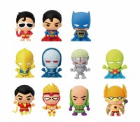 DC SUPERPOWERS LASER CUT FIG KEYRINGS