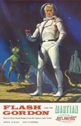 FLASH GORDON AND THE MARTIAN MODEL KIT