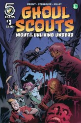 GHOUL SCOUTS NIGHT OF THE UNLIVING UNDEAD #3 CVR B HESTER