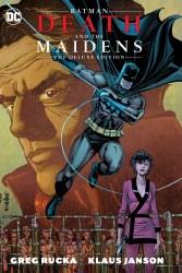 BATMAN DEATH AND THE MAIDENS DLX ED HC
