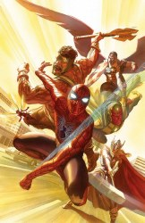 AVENGERS #4 BY ALEX ROSS POSTER