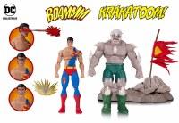DC ICONS DOOMSDAY SUPERMAN DEATH SUPERMAN DLX FIGURE 2 PK